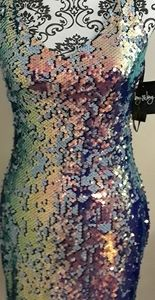 By & By sequin dress, size 3, new with tags
